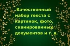 Транскрибация с видео, аудио, фото, картинки 14 - kwork.ru