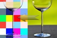 Нанесение рисунка и текстуры, замена цвета предмета 12 - kwork.ru
