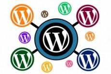 Установка шаблона WordPress 12 - kwork.ru