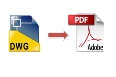 Конвертация DWG в PDF 18 - kwork.ru
