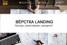 Сверстаю лендинг 3 - kwork.ru