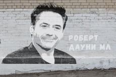 Портрет в стиле GTA 43 - kwork.ru