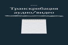Транскрибация видео и аудиофайлов до 40 минут 28 - kwork.ru