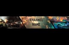 Сделаю оформление канала на YouTube 21 - kwork.ru