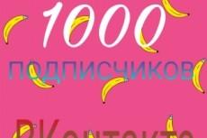 500 друзей - подписчиков на профиль ВК - на личную страницу 9 - kwork.ru
