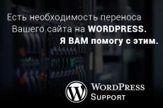Выполню задачи с сайтом на Cms WordPress 12 - kwork.ru