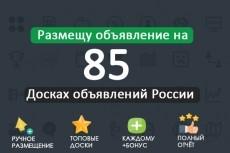 Размещу объявление по нужному вам городу, стране 85 досок объявлений 29 - kwork.ru