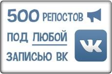 500+ лайков под записью вк 4 - kwork.ru