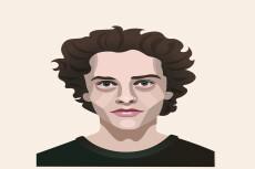 Нарисую любой предмет, Ваш портрет в стиле LOW POLY 7 - kwork.ru