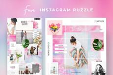 Сделаю 3 шаблона для постов для Instagram 20 - kwork.ru