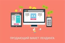 сайт-визитка 3 - kwork.ru