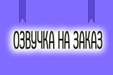 Озвучка и аудиозапись 2 - kwork.ru