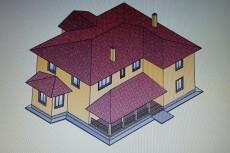 Проектирование отопления и вентиляции коттеджа 16 - kwork.ru