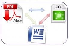 Переведу ваш pdf-документ в word. Быстро и качественно 11 - kwork.ru