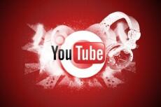 500 подписчиков на YouTube +бонусы 13 - kwork.ru