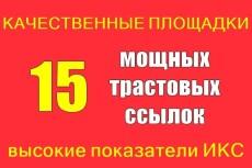 Оставлю 15 вечных ссылок на трастовых сайтах + бонус 6 - kwork.ru