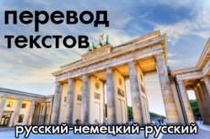 Перевод текста, аудио или видео на английский и славянские языки 28 - kwork.ru