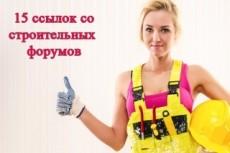 13 комментариев с безанкорными ссылками в темах. ГЕО - РФ и Украина 21 - kwork.ru