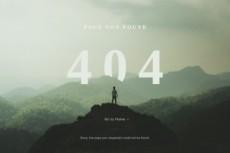 Дизайн страницы 404 4 - kwork.ru