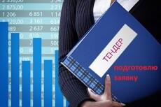 Поиск тендеров, подготовка заявок 9 - kwork.ru