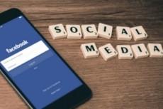 Контент - план Facebook 3 - kwork.ru