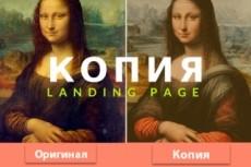 Скопирую Landing Page с конверсией от 7% 12 - kwork.ru