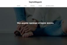 Лендинг (одностраничник) 22 - kwork.ru