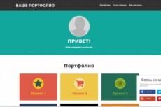 Создам одностраничный сайт 21 - kwork.ru