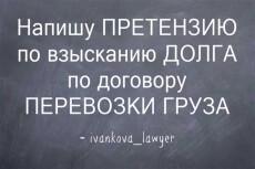 Напишу претензию 17 - kwork.ru