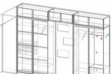 Дизайн-проект кухни/прихожки/гардеробной 5 - kwork.ru