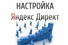 Качественная настройка контекстной рекламы Яндекс.Директ 22 - kwork.ru