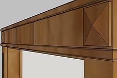 3D Модель мебели 18 - kwork.ru