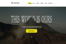 Разработаю лендинг, дизайн главной страницы сайта 21 - kwork.ru