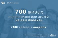 5000 лайков на любой объект вконтакте +100 друзей в подарок 3 - kwork.ru