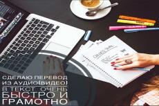 Аудио и видео в текст - транскрибация 18 - kwork.ru