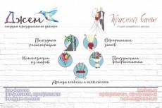 нарисую пресс волл на свадьбу 14 - kwork.ru