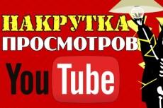 1000 Youtube просмотров с бонусами 11 - kwork.ru