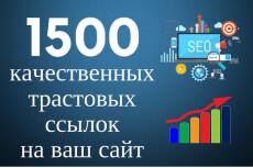"""15 """"жирных"""" ссылок с трастовых сайтов, средний ТИЦ > 4390 + бонус 10 - kwork.ru"""