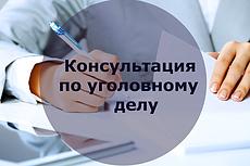 Предоставлю юридическую консультацию 23 - kwork.ru