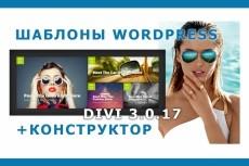 Самонаполняемый видео сайт на WordPress 3 - kwork.ru