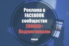 Просмотры  Facebook видео 17 - kwork.ru