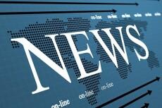 Предлагаю ежедневное написание новостных статей на сайты СМИ 9 - kwork.ru