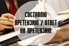 Составление искового заявления 25 - kwork.ru