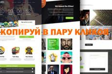 Скопирую любой лендинг пейдж (landing page) 48 - kwork.ru