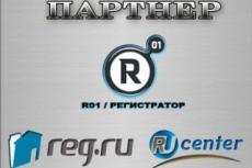 Продление домена RU или РФ на год 14 - kwork.ru
