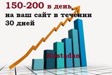 500  уникальных посетителей в сутки 17 - kwork.ru