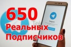 Подписчики в канал Телеграм. Русскоязычные. Гарантия 3 - kwork.ru