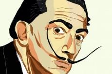 Нарисую портрет с фото в стиле ВК 8 - kwork.ru