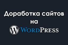 Доработка сайта на wordpress качественно 21 - kwork.ru