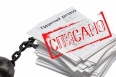 Составление заявления на банкротство физ. лица 14 - kwork.ru